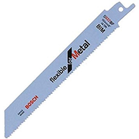 BOSCH Lame de scie sabre S 922 BF - Flexible for Metal - 2608656014-Maroc-1