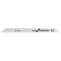 BOSCH Lame de scie sabre S 1122 HF - Flexible for Wood and Metal - 2608656034 - Boite de 100 pcs-Maroc-1