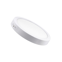 Panel LED Rond 24W Apparent Blanc Froid 6500K-Maroc-1