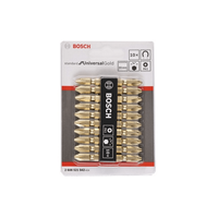 BOSCH 10 embouts double ended 65mm, Standard for UniversalGold SDB set-Maroc-1